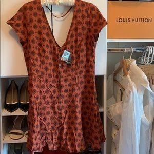 BRAND NEW Forever 21 Button Up Dress